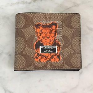 Coach vandal gummy bear wallet